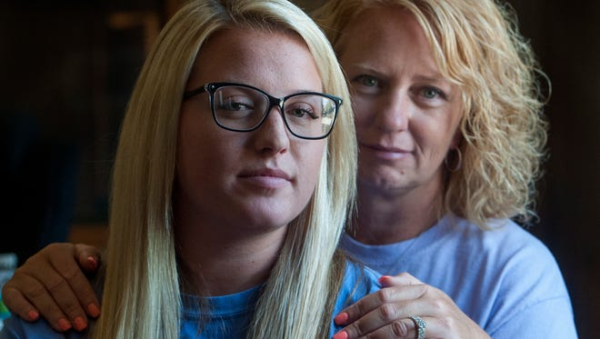 Rhonda Wilkes and her daughter Casey Wilkes in Montgomery, Ala., on Wednesday August 3, 2016.