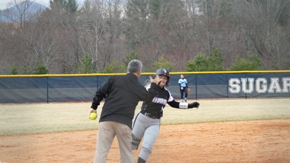 North Buncombe senior Cassidy Allen has committed to play college softball for Mars Hill.