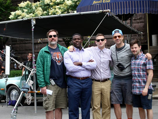 "The cast of the Comedy Central pilot, ""The Detroiters"""