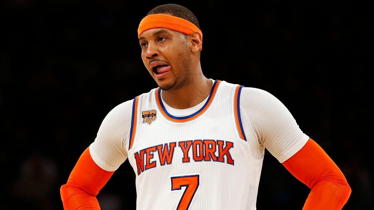 Is Carmelo's time in New York over?