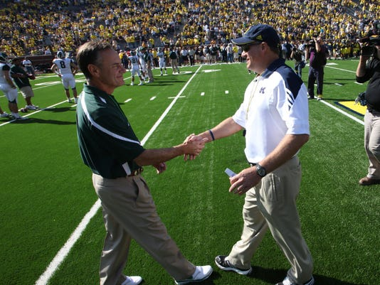 Mark Dantonio Rich Rodriguez
