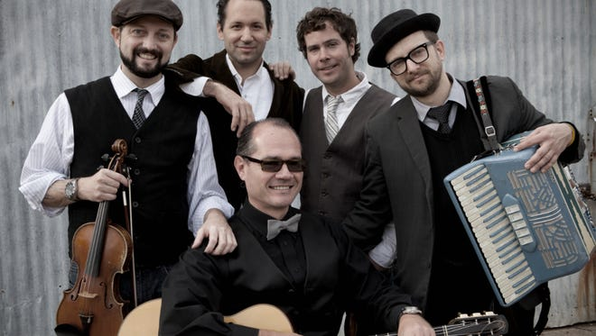 """The ensemble Velvet Caravan will partner with the Jackson Symphony to perform """"Gypsy Jazz"""" at the Carl Perkins Civic Center."""