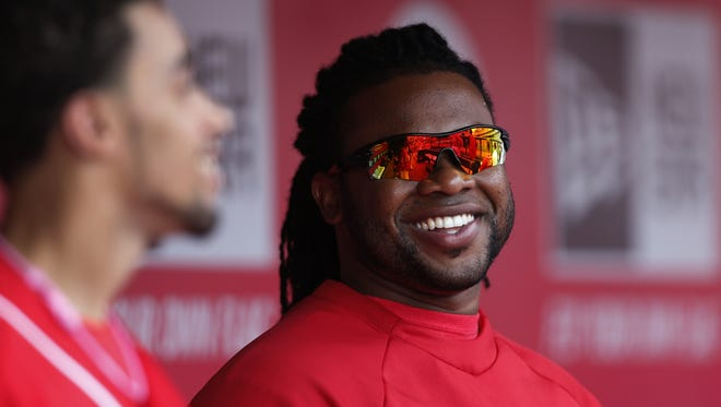Reds ace Johnny Cueto finished second to Clayton Kershaw in the National League Cy Young Award voting.