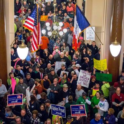 I grieve for the Iowa Legislature's partisan relations