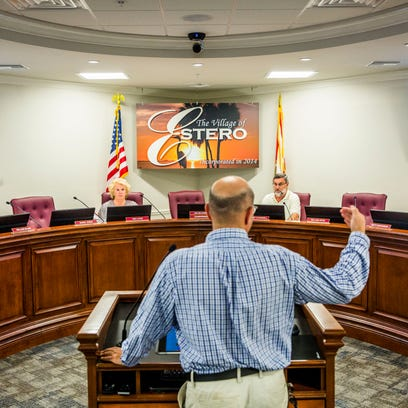 Estero Village Council questions village board applicants on ethics, conflicts of interest