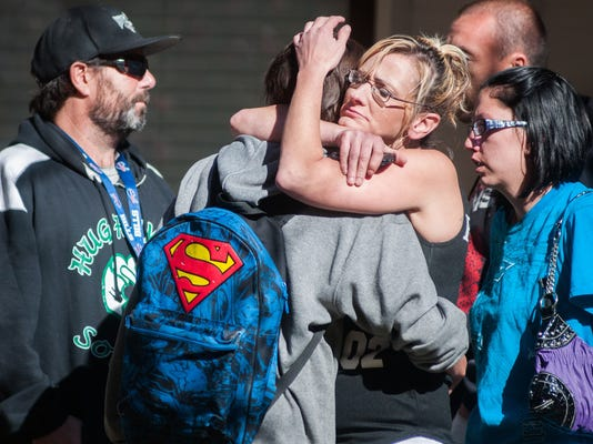 'Hero' teacher, student gunman dead in Nevada