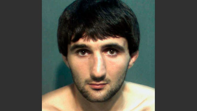 A 2013  photo provided by the Orange County (Fla.) Corrections Department shows Ibragim Todashev.