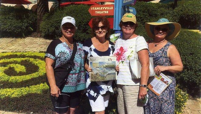 Denise Pabst, Barbara Van Slooten, Debbie Durante and Sue Furr.
