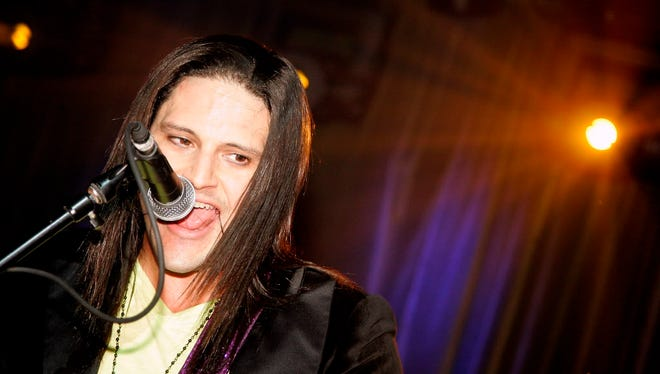 "David Zablidowsky, aka ""David Z,"" performs at ZO2's Rock Asylum benefit concert at the Hiro Ballroom at The Maritime Hotel on Oct. 13, 2011, in New York City."