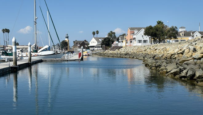 A temporary lane for launching kayaks and paddle boards is opening Friday at Kiddie Beach at Channel Islands Harbor.
