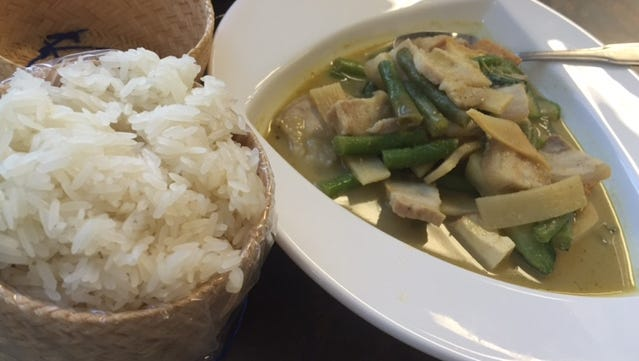 Sticky Rice Cafe is one of the Grub Scout's top 10 restaurants reviewed in 2016.