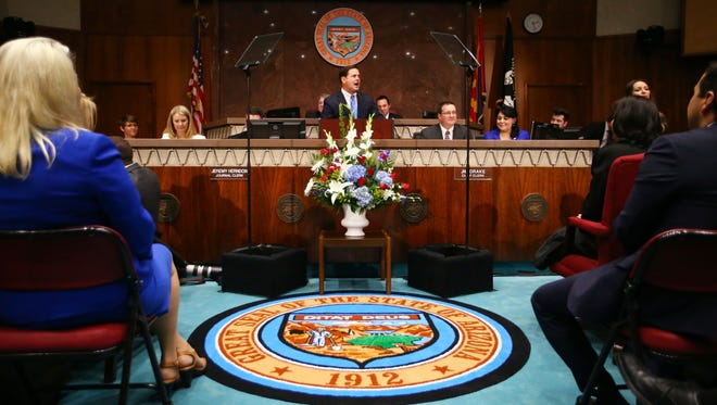 Gov Doug Ducey has proposed allowing the state's three public universities to keep about $38 million in sales tax proceeds they would normally pay into the state's general fund.