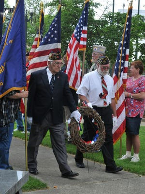 The Memorial Day parade was held Monday, May 25, 2015, in downtown Lancaster.