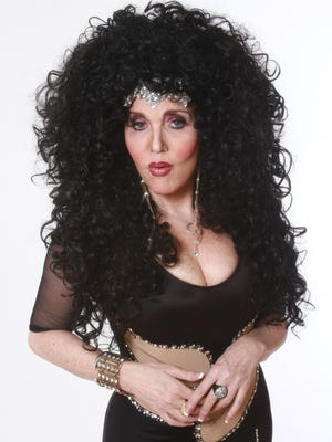 Performer Dorothy Bishop will inhabit the life of Cher and other divas at Cortland Repertory Theatre Downtown.