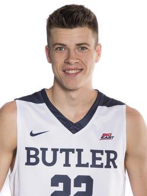 Sean McDermott - Butler men's basketball 2016-17