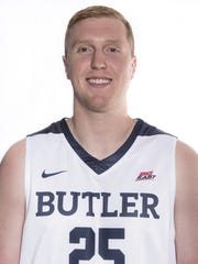 Butler's Steven Bennett is one of six seniors that