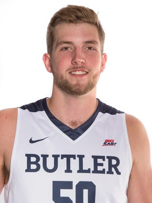 Joey Brunk Butler men's basketball 2016-17