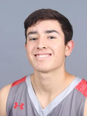 Sul Ross freshman guard Tristen Licon was named American Southwest Conference West Division New Comer of the Year.