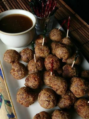 Doe Run Inn's country ham balls