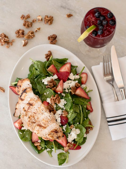 Summer Salads and drinks: White Maple in Ridgewood