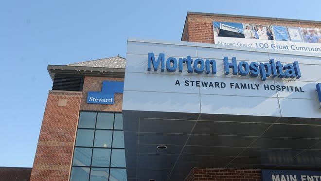 Morton Hospital in Taunton has been designated a coronavirus ICU facility.  File photo