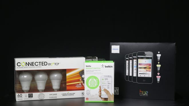 Connected home products from TCP, Belkin and Philips