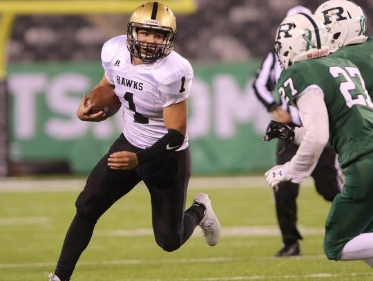 River Dell's David Estevez rushed for 25 touchdowns