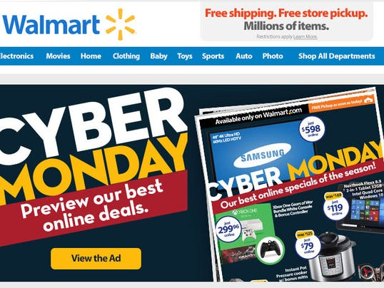 Watch video · Walmart (wmt) is trotting out post-Black Friday online deals a day earlier this year to avoid any lull during the crucial upcoming shopping weekend. .