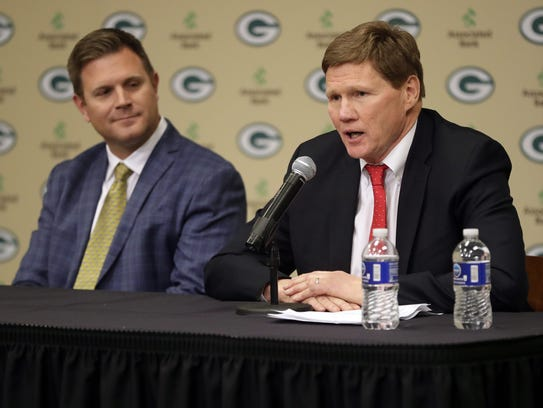Green Bay Packers President and CEO Mark Murphy addresses