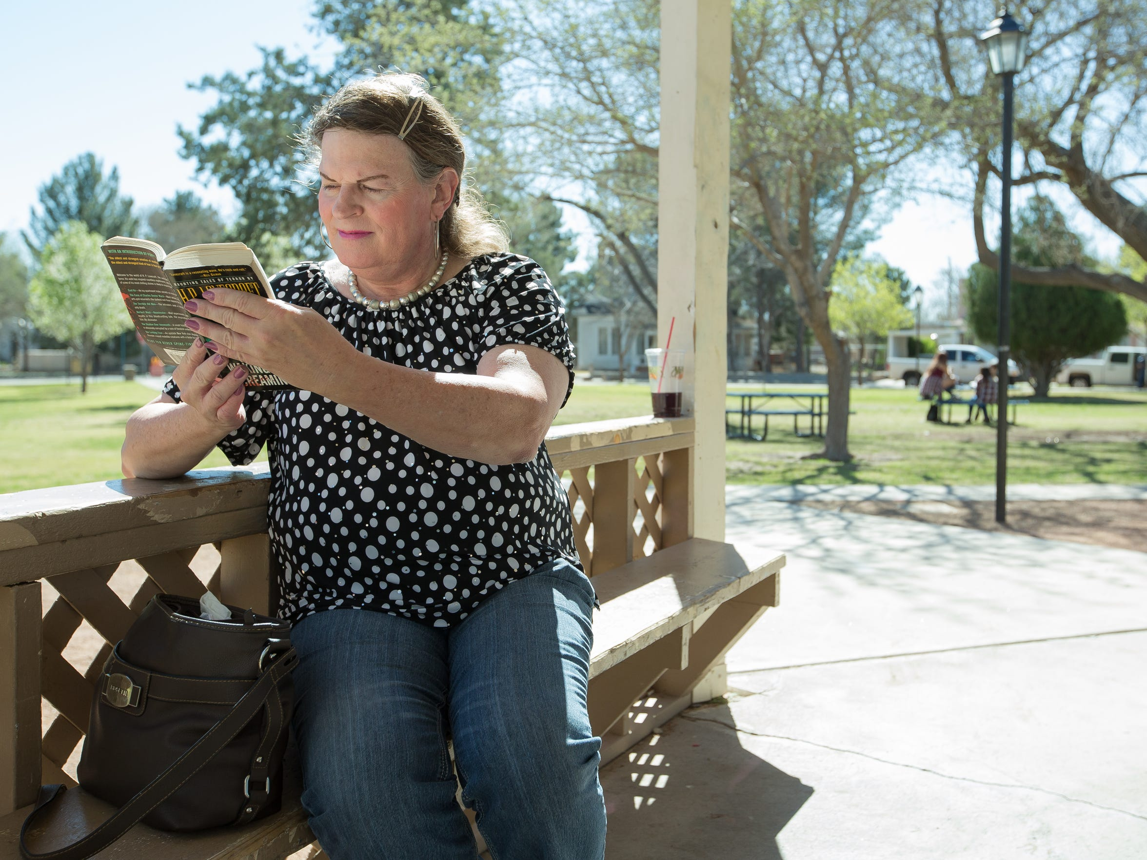 Jodi Wenneborg, 52, a transgender woman, is pictured