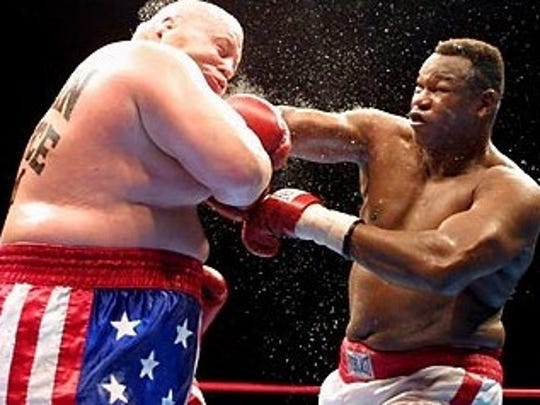 In the first 10-round fight of his career in 2002, Butterbean lost a controversial fight to former world heavyweight champion Larry Holmes in Norfolk, Virginia.