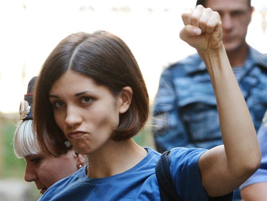 Timeline Pussy Riot S Journey From Protest To Prison