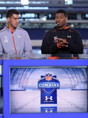 Where will Marcus Mariota and Jameis Winston end up? azcentral sports NFL insider Bob McManaman unveils his NFL Mock Draft - third edition.