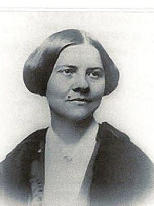 Women's rights pioneer Lucy Stone.