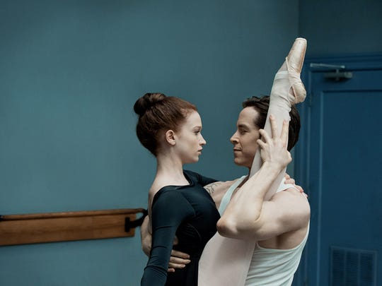 """Flesh and Bone"" stars Sarah Hay and Sascha Radetzky, who both were pulled from the real world of international ballet."