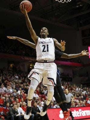 UC scoring leader Farad Cobb and the Bearcats next face USF. UC beat the Bulls last month in Tampa.
