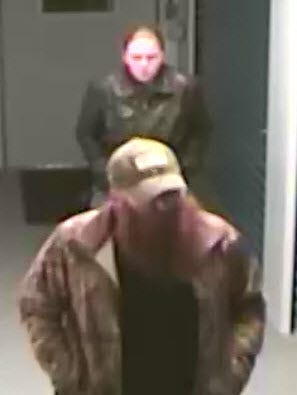 The Augusta County Sheriff's Office is asking for the public's help in identifying two people of interest in a burglary at a Fishersville storage facility.