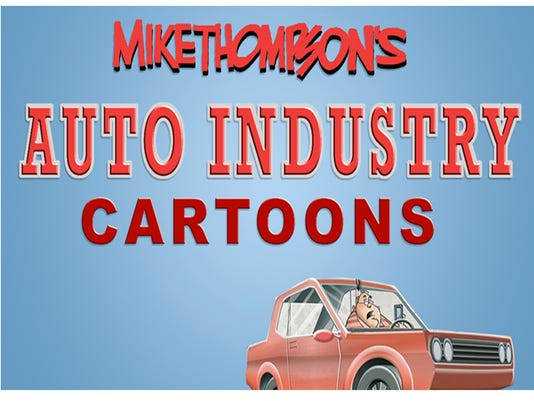 Mike Thompson's auto industry cartoon gallery