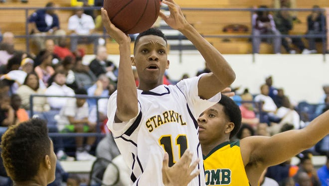 Starkville shooting guard Tyson Carter committed to Mississippi State on Tuesday.