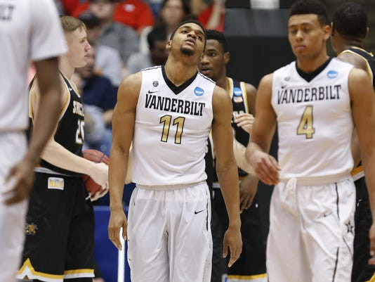 NCAA Basketball: NCAA Tournament-First Four-Wichita State vs Vanderbilt