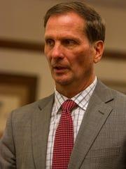 Rep. Chris Stewart during the Economic Summit in Cedar