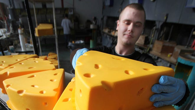 Cheeseheads should know their cheeses, right? A fan at the Bucks game Sunday certainly did.