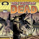 "The original cover of the ""The Walking Dead #1"" from 2003. Artist Michael Golden will provide a variant cover for the inaugural Wizard World Comic Con Indianapolis (Feb. 13-15)."