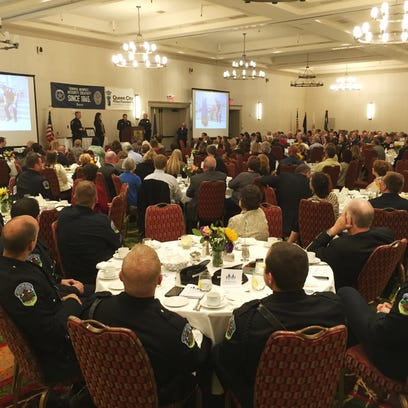 Hundreds attend the Queen City Police Foundation and