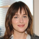 """Fifty Shades of Grey"" star Dakota Johnson says she sneaked away with items of lingerie from the movie's wardrobe."