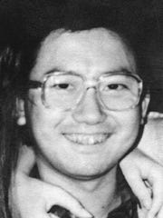 Gang Lu, shown here in a handout photo from 1990, fatally