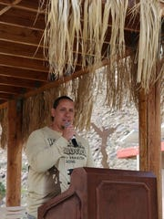 Tribal Chairman Jeff L. Grubbe at the annual Legacy Hike & 5K.