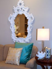 Inexpensive items, like new pillows or a decorative