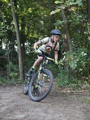 Owen Hornburg, a seventh-grader on the Pewaukee mountain