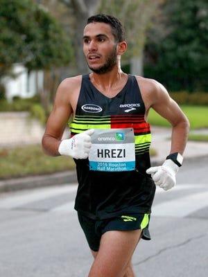 Former Iowa State runner Mohamed Hrezi.